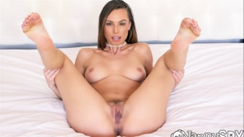 Aidra Fox in 'Nanny's Halloween Party Plans Busted By Dad'